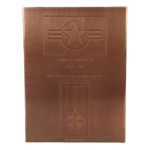 Military Copper Cremation Urn