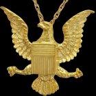Military Eagle Cremation Pendant IV