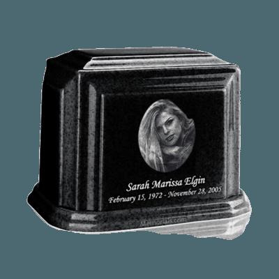 Millennium Charcoal Medium Marble Urn