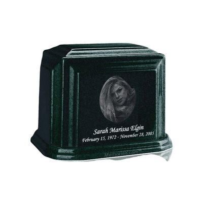 Millennium Emerald Keepsake Marble Urn
