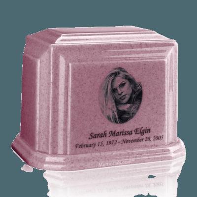 Millennium Rose Marble Urns