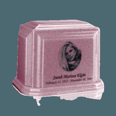 Millennium Rose Medium Marble Urn