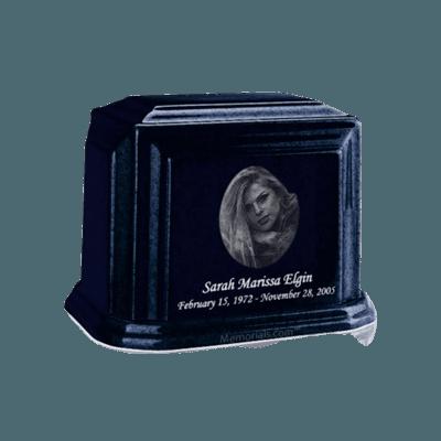 Millennium Sapphire Blue Keepsake Marble Urn
