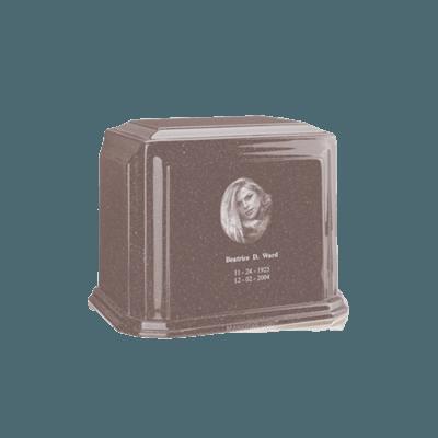 Millennium Basil Wood Keepsake Marble Urn
