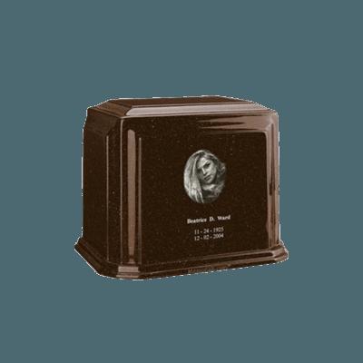 Millennium Chocolate Keepsake Marble Urn