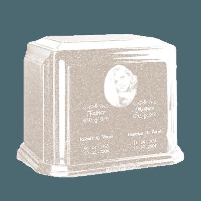 Millennium Frost Large Marble Urn