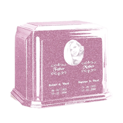 Millennium Lavender Large Marble Urn