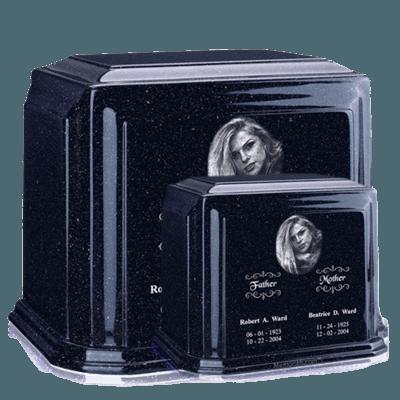 Millennium Sapphire Blue Marble Urns
