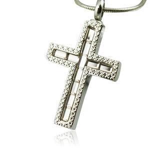 Cross Cremation Jewelry