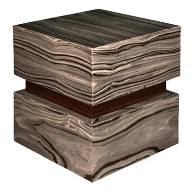 Modern Wood Cremation Urn