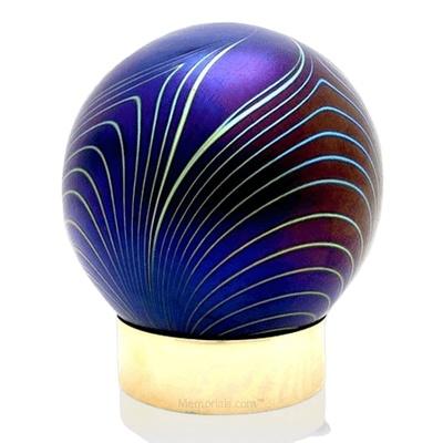 Moderne Glass Child Cremation Urn
