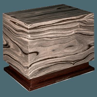 Moderno Wood Cremation Urn