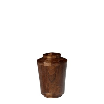 Montenegro Keepsake Wood Urn