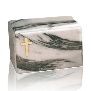 Montenegro Cross Marble Cremation Urn