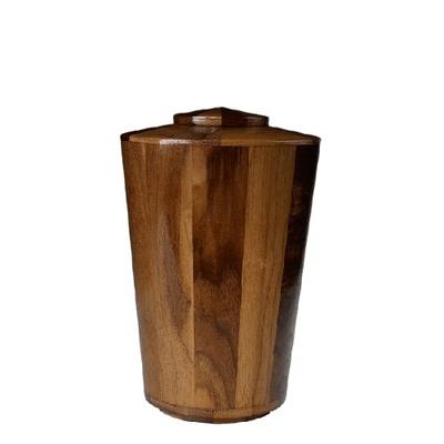 Montenegro Medium Wood Urn
