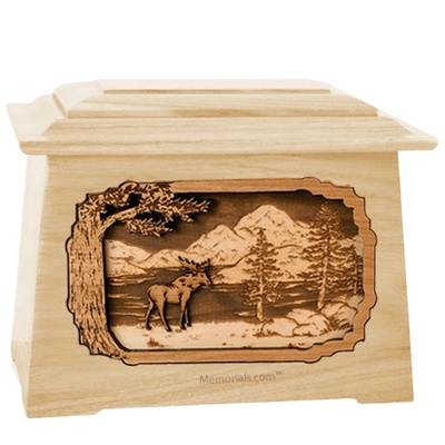 Moose Maple Aristocrat Cremation Urn