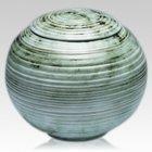 Mossystone Ceramic Cremation Urn