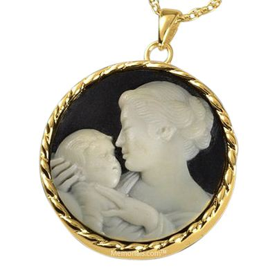 Mothers Love Cremation Pendant IV