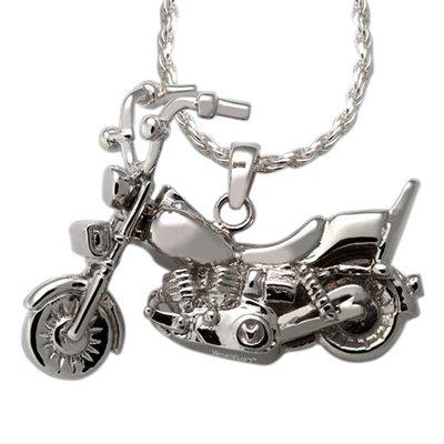 Motorcycle Cremation Pendant III
