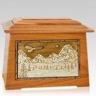 Mount Splendor Mahogany Aristocrat Cremation Urn