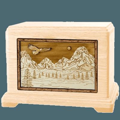 Mount Splendor Maple Hampton Cremation Urn