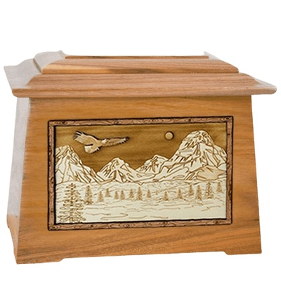 Mount Splendor Oak Aristocrat Cremation Urn