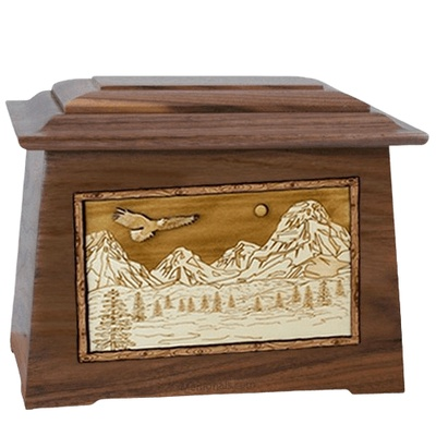 Mount Splendor Walnut Aristocrat Cremation Urn