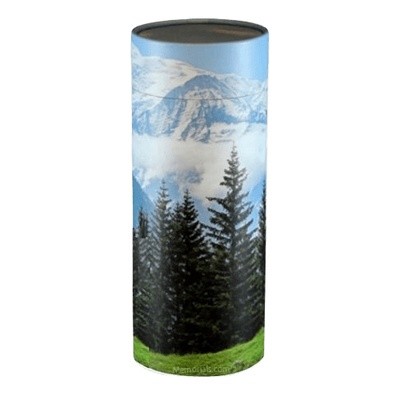 Mountain Scattering Biodegradable Urn