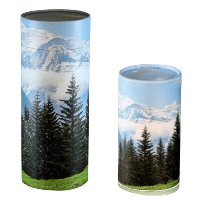 Mountain Scattering Biodegradable Urns