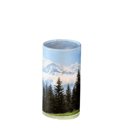Mountain Scattering Mini Biodegradable Urn