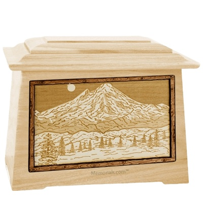 Mt Baker Maple Aristocrat Cremation Urn