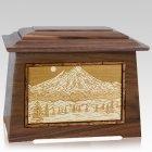 Mt Baker Walnut Aristocrat Cremation Urn