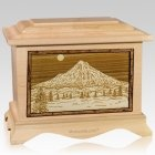 Mt Hood Maple Cremation Urn