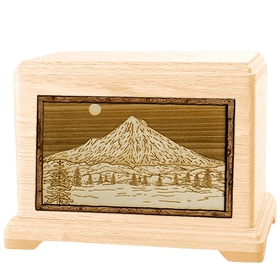 Mt Hood Maple Hampton Cremation Urn