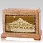 Mt Hood Oak Companion Urn for Two
