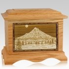 Mt Hood Oak Cremation Urn