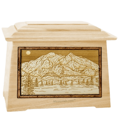 Mt McKinley Maple Aristocrat Cremation Urn