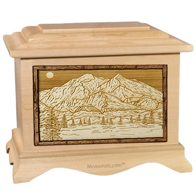 Mt McKinley Maple Cremation Urn
