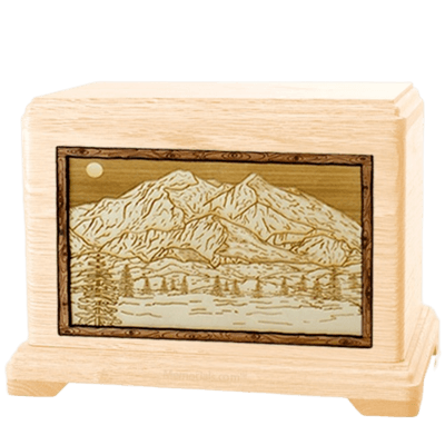 Mt McKinley Maple Hampton Cremation Urn