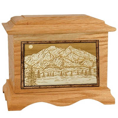 Mt McKinley Oak Cremation Urn