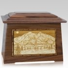 Mt McKinley Walnut Aristocrat Cremation Urn