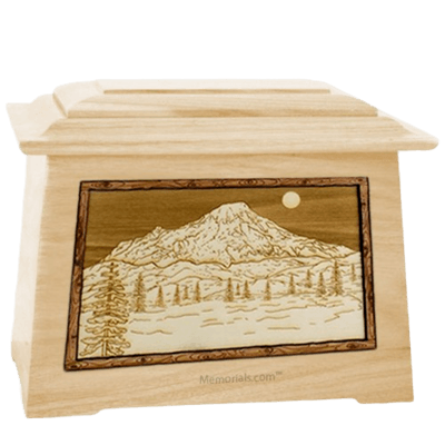 Mt Rainier Maple Aristocrat Cremation Urn