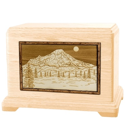Mt Rainier Maple Hampton Cremation Urn