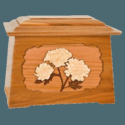 Mums Mahogany Aristocrat Cremation Urn