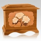 Mums Mahogany Cremation Urn