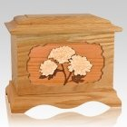 Mums Oak Cremation Urn