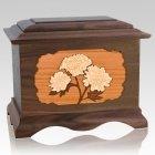 Mums Walnut Cremation Urn