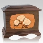 Mums Wood Cremation Urns