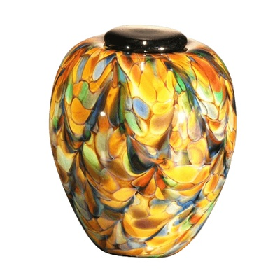 Mundo Glass Cremation Urn