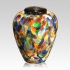 Mundo Small Glass Cremation Urn